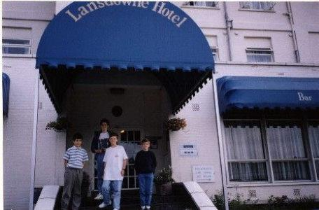 Ray Lockton and team move into their Norwich hotel.