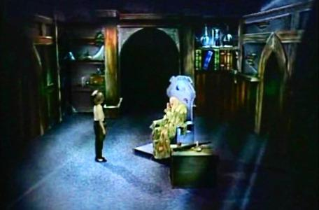 Knightmare Series 2 Team 4. Mark meets the great wizard in his chamber.