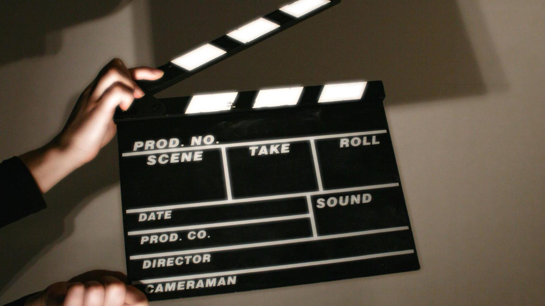 A clapper board used by production crews. By Christian Wagner for FreeImages.