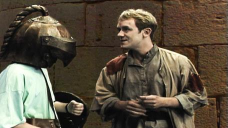 Fidjit, the locksmith, played by Paul Valentine in Series 7 of Knightmare (1993).