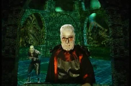 Knightmare Series 8, End of Series. Lord Fear is incandescent with rage at the thought of surrender.