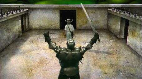 An inline image of the behemoth, as seen in Series 3 of Knightmare (1989).
