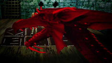 Bhal-Sheba, the Red Dragon. Voiced by Bill Cashmore.