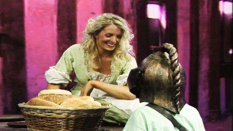 Marta, the Tavern Maid. Played by Jacquelin Joyce.