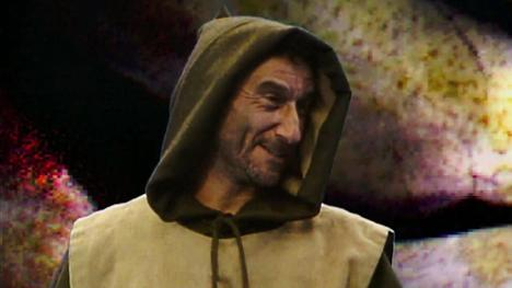 Cedric, the Mad Monk. Played by Lawrence Werber.