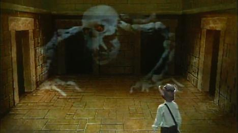 The catacombite challenge from the first three series of Knightmare.
