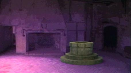 A Level 1 wellway room, as shown on Series 4 of Knightmare (1990).
