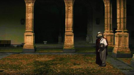 The arches, as seen in Series 7 of Knightmare (1993).