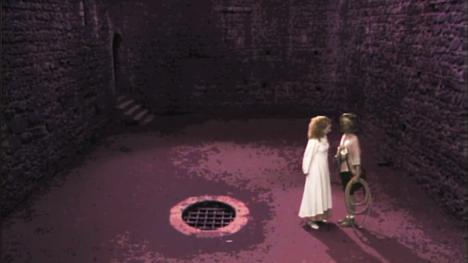 A two-part area in Series 4, based on the basements of Castle Rising in Norfolk.