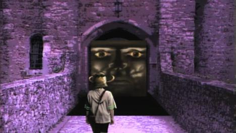 The Weeping Door from Level 1 of Series 4 (1990).