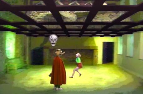 Knightmare Series 5 Team 4. Elita runs in to chase away a haunting.