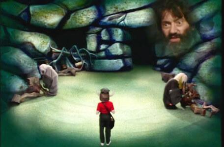 Knightmare Series 1 Team 6. Richard in the Cavernwight room.