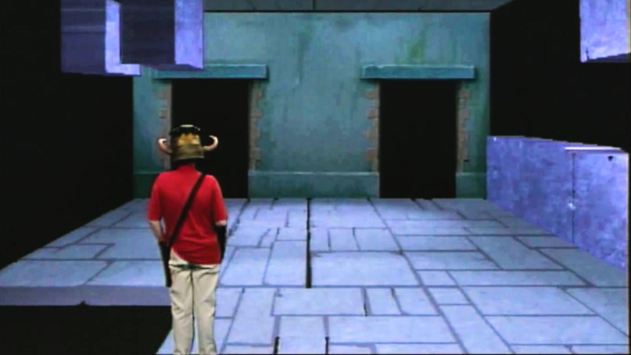 Series 4, Quest 4. Simon arrives at the Block and Tackle in Level 2.