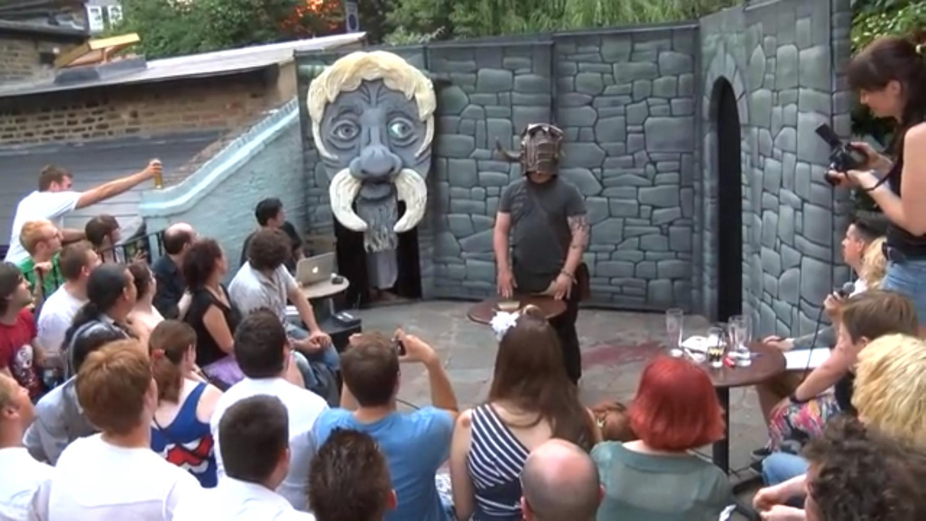 Knightmare Live, first preview show, 2013