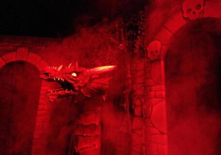 The dragon in Knightmare Live.