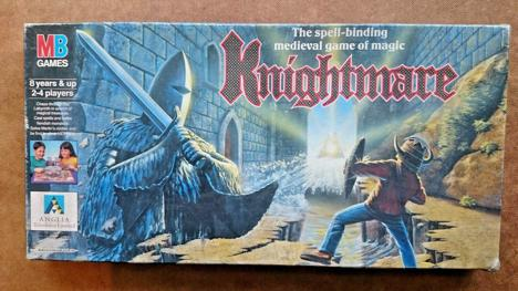 Knightmare board game by Milton Bradley games
