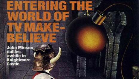 Games Machine 08-87 p94 - first page of Knightmare article