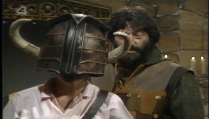 Channel 4's 100 Greatest Kid's TV Shows (2001). Treguard (Hugo Myatt) sends the first dungeoneer on his way.