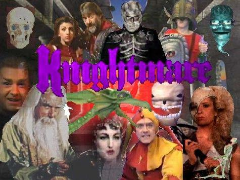 A montage for a Knightmare-related 'spot the difference' puzzle.