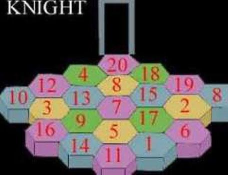 A causeway of numbers in the second season of the Knightmare RPG.