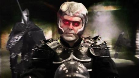 Lord Fear, the Leader of the Opposition, played by Mark Knight. As seen in Series 5 of Knightmare (1991).