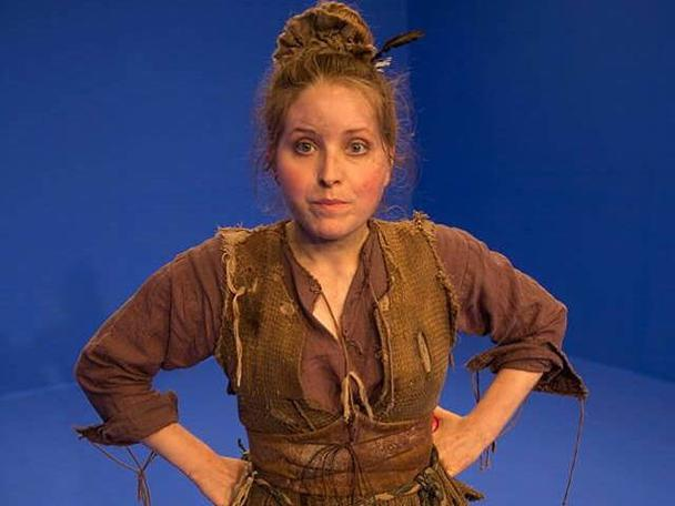 Jessie Cave as Theodora Snitch for the 2013 Geek Week episode of Knightmare.