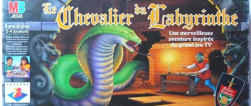 Le Chevalier du Labyrinthe board game, by MB.