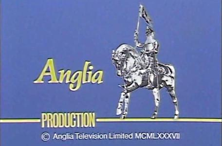 The Anglia Production logo shown at the end of episodes during the first series in 1987.