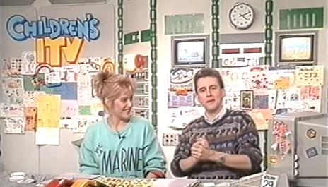 Children's ITV 1987 studio