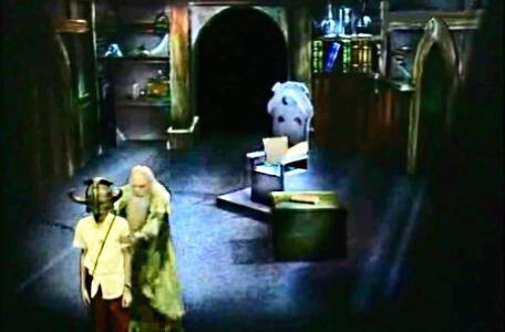 Knightmare Series 2 Team 10. Merlin reprimands the team in his chamber.