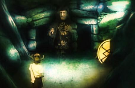 Knightmare Series 2 Team 10. Julian collects the final piece of the talisman under pressure from Mogdred.