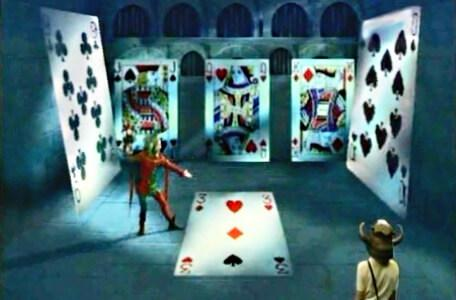 Knightmare Series 2 Team 4. Folly introduces a card game.