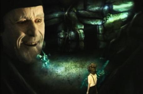 Knightmare Series 2 Team 4. Mark is confronted by an apparition of Mogdred.