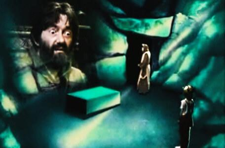 Knightmare Series 2 Team 8. Treguard is caught in a trance by the monk.