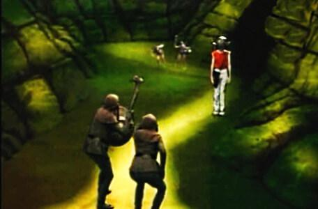 Knightmare Series 3 Team 12. Chris is trapped between goblin packs in the Vale of Banburn.
