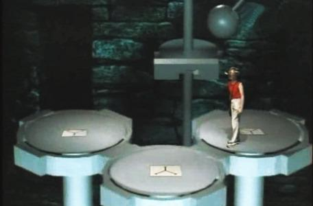 Knightmare Series 3 Team 12. Chris tackles the Mills of Doom in Level 2.