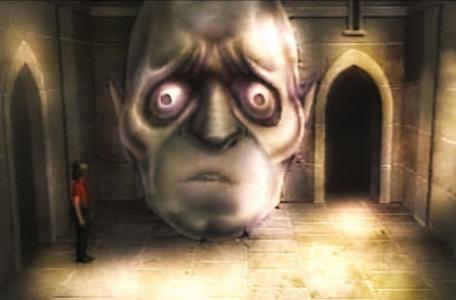 Knightmare Series 3 Team 4. Leo encounters a gargoyle in Level 3.