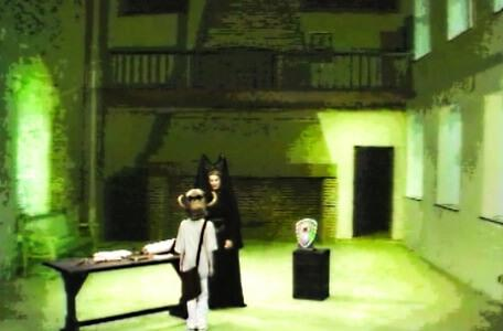 Knightmare Series 4 Quest 2. Alistair meets the sorceress Malice in Level 1.