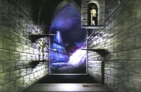 Knightmare Series 4 Quest 2. Alistair takes on the transporter pad puzzle in Level 3.