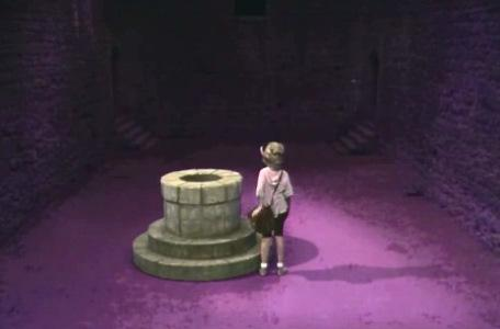 Knightmare Series 4 Quest 3. Nikki climbs into the well.