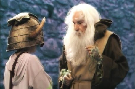 Knightmare Series 4 Quest 3. Nikki faces Merlin's riddles.