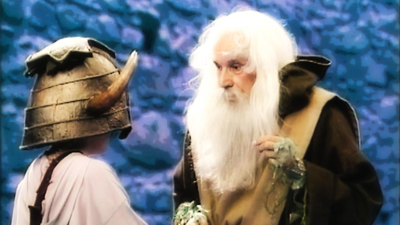 Series 4, Quest 3. Nikki is questioned by Merlin in Level 2.