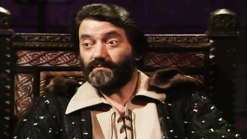 Treguard monitors the game from his chair in Knightmare Series 4.