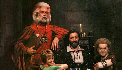 Treguard, Pickle, Hordriss, and Elita in the antechamber.