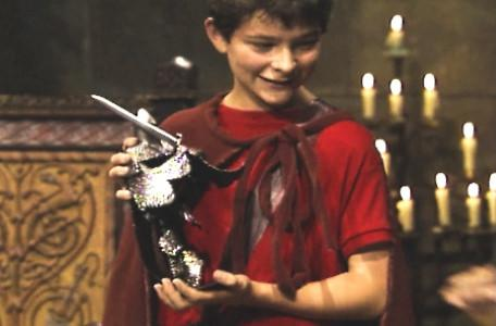 Knightmare Series 5 Team 4. Ben proudly holds the Frightknight trophy.