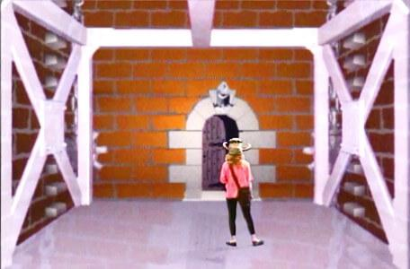 Knightmare Series 5 Team 3. The descender stops at the entrance to Level 3.