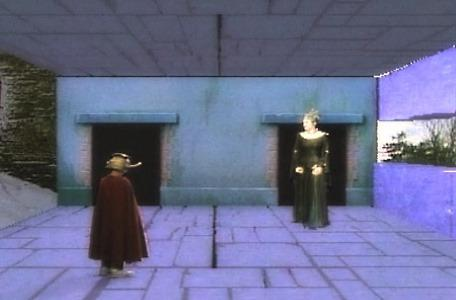 Knightmare Series 5 Team 4. Ben encounters the sorceress, Aesandre.