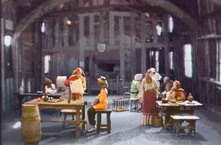 Knightmare Series 5 Team 7. Motley helps Christopher in the inn of the Craved Heifer.