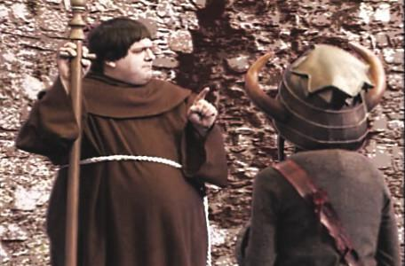 Knightmare Series 5 Team 7. Brother Mace ponders options for Christopher in his cast-locked spell.