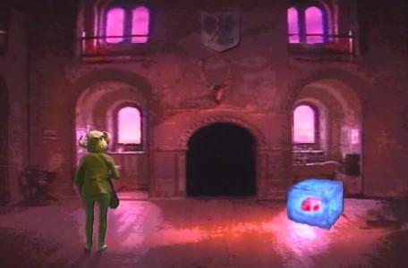 Knightmare Series 5 Team 7. Christopher turns into a goblin trying to dissolve a block of ice.